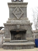 Outdoor Fireplace, Landscape Contractors in Chantilly, VA